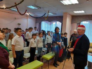 У праздник з Василем Довжиком
