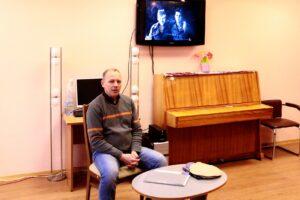Зустріч молоді Солом'янки з учасником війни в Афганістані Ігорем Рубцовим