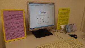 Лікбез для людей поважного віку «Як гуглити і працювати у соцмережах» у ЦРБ імені Ф.Достоєвського